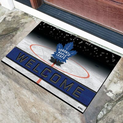 NHL Rubber Doormat NHL Team: Toronto Maple Leafs