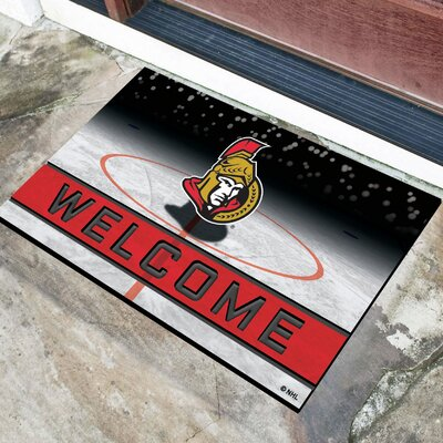 NHL Rubber Doormat NHL Team: Ottawa Senators