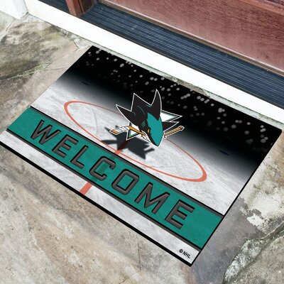 NHL Rubber Doormat NHL Team: San Jose Sharks