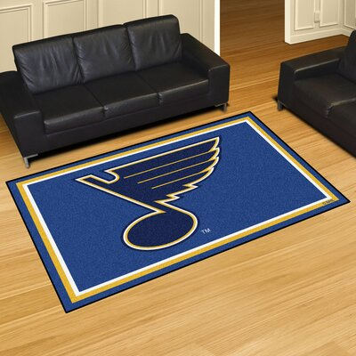 NHL Rug Rug Size: 5 x 78, NHL Team: St. Louis Blues