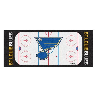 NHL - St. Louis Blues Rink Runner Doormat