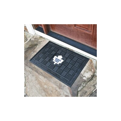 NHL Medallion Doormat NHL: Toronto Maple Leafs