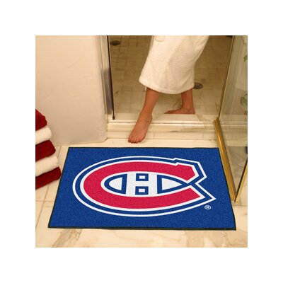 NHL - Montreal Canadiens Doormat Rug Size: 17 x 26