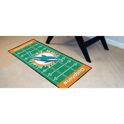NFL - Miami Dolphins Football Field Runner