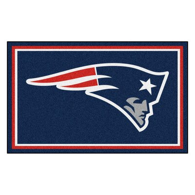 NFL - New England Patriots 4x6 Rug Rug Size: 4 x 6