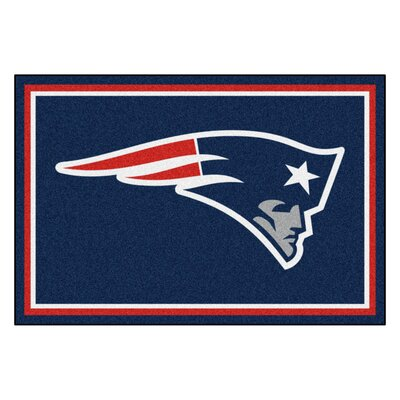 NFL - New England Patriots 4x6 Rug Rug Size: 5 x 8