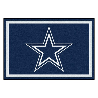 NFL - Dallas Cowboys 4x6 Rug Rug Size: 5 x 8