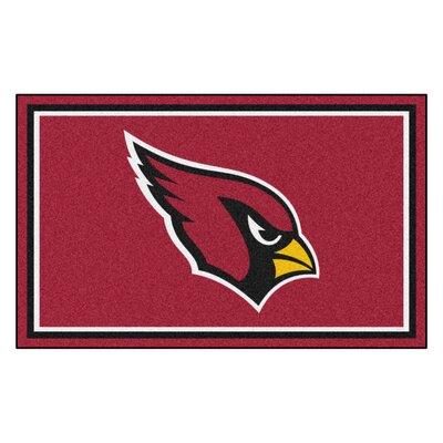 NFL - Arizona Cardinals 5x8 Rug Mat Size: 4 x 6