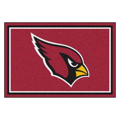 NFL - Arizona Cardinals 5x8 Rug Mat Size: 5 x 8