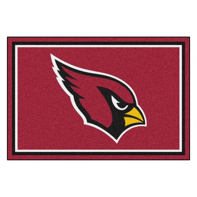NFL - Arizona Cardinals 5x8 Rug Rug Size: 5 x 8