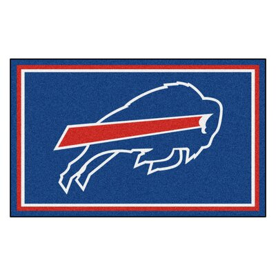 NFL - Buffalo Bills 4x6 Rug Mat Size: 4 x 6