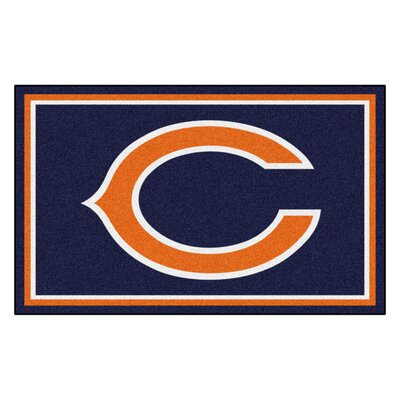 NFL - Chicago Bears 4x6 Rug Rug Size: 4 x 6