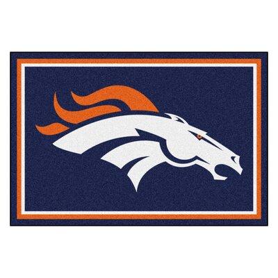 NFL - Denver Broncos 4x6 Rug Rug Size: 5 x 8