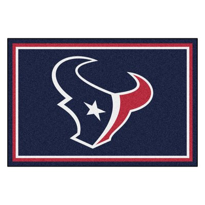 NFL - Houston Texans 4x6 Rug Rug Size: 5 x 8