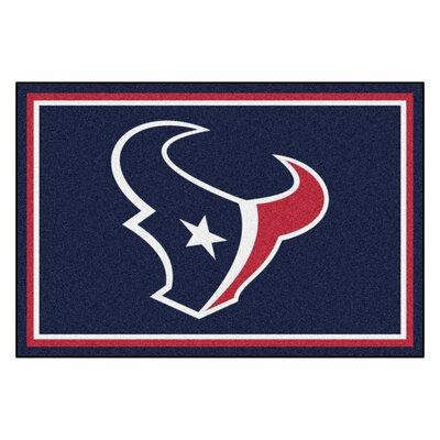 NFL - Houston Texans 4x6 Rug Mat Size: 5 x 8