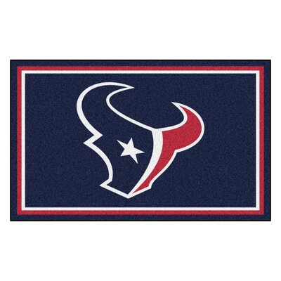 NFL - Houston Texans 4x6 Rug Rug Size: 4 x 6