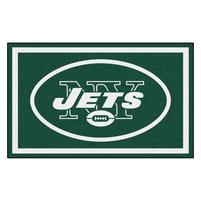 NFL - New York Jets 4x6 Rug Mat Size: 4 x 6