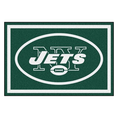 NFL - New York Jets 4x6 Rug Mat Size: 5 x 8