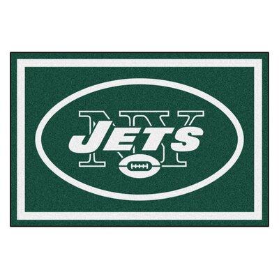 NFL - New York Jets 4x6 Rug Rug Size: 5 x 8