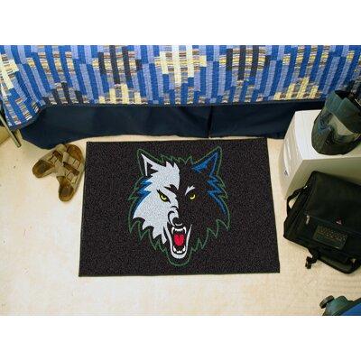 NBA - Minnesota Timberwolves Doormat Rug Size: 17 x 26