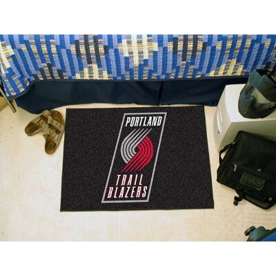 NBA - Portland Trail Blazers Doormat Rug Size: 17 x 26