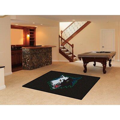 NBA - Minnesota Timberwolves Doormat Rug Size: 5 x 8