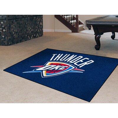 NBA - Oklahoma City Thunder Doormat Rug Size: 17 x 26