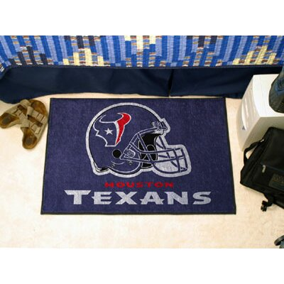 NFL - Houston Texans Doormat Rug Size: 210 x 38.5