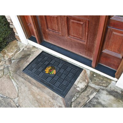 NHL - Chicago Blackhawks Medallion Door Mat