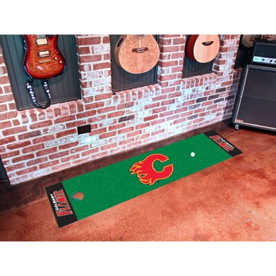 NHL - Calgary Flames Putting Green Doormat