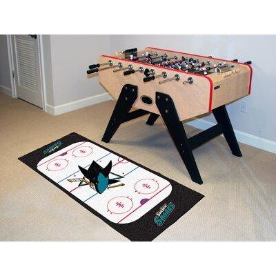NHL - San Jose Sharks Rink Runner Doormat