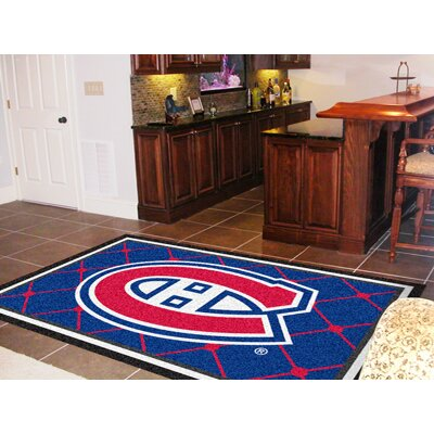 NHL - Montreal Canadiens Doormat Rug Size: 310 x 6