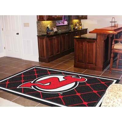 NHL - New Jersey Devils 5x8 Rug Rug Size: 310 x 6