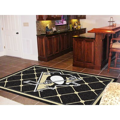 NHL - Pittsburgh Penguins Doormat Rug Size: 5 x 78