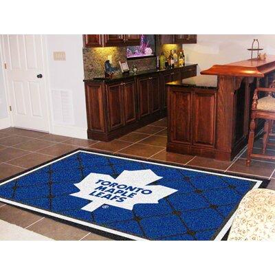 NHL - Toronto Maple Leafs Doormat Rug Size: 310 x 6
