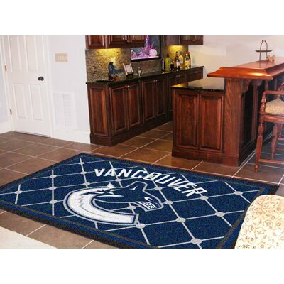 NHL - Vancouver Canucks Doormat Rug Size: 5 x 78