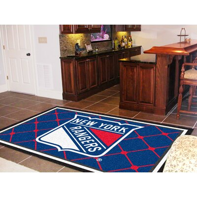 NHL - New York Rangers Doormat Mat Size: 310 x 6