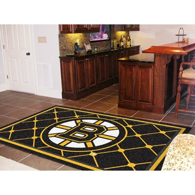 NHL - Boston Bruins 5x8 Rug Rug Size: 5 x 78