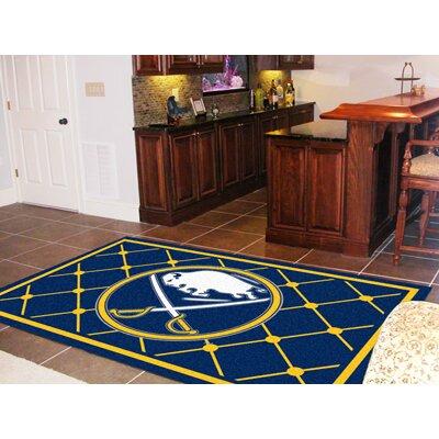 NHL - Buffalo Sabres 5x8 Doormat Rug Size: 310 x 6