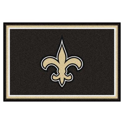 NFL - New Orleans Saints 4x6 Rug Rug Size: 5 x 8