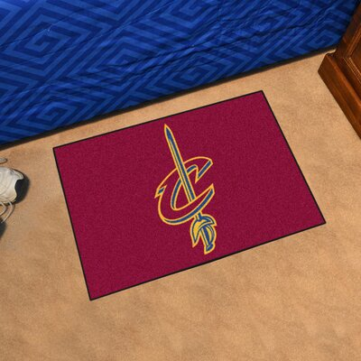 NBA - Cleveland Cavaliers Doormat Mat Size: 17 x 26