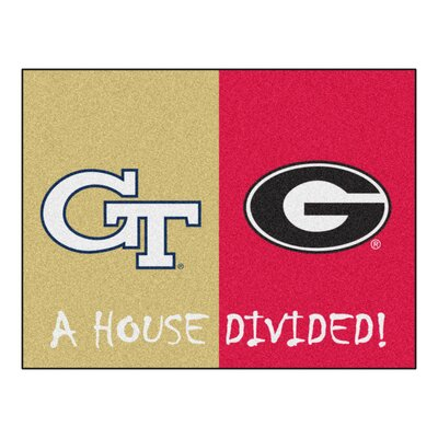 NCAA Mat NCAA Team: Georgia Tech / Georgia House