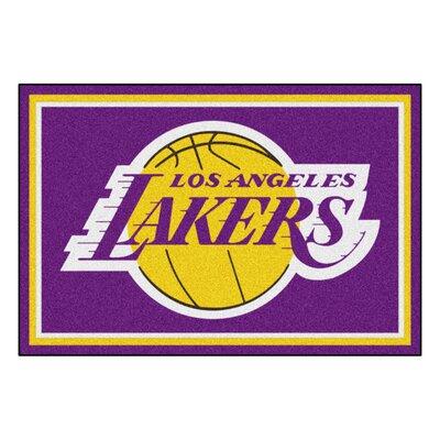 NBA - Los Angeles Lakers 5x8 Doormat