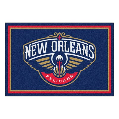 NBA - New Orleans Pelicans 5x8 Doormat