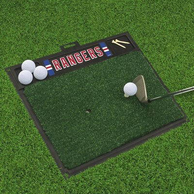 NHL - Washington Capitals Golf Hitting Doormat NHL Team: New York Rangers
