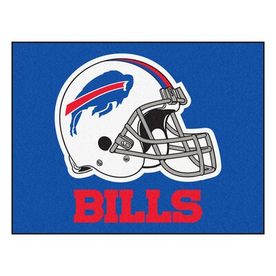 NFL - Buffalo Bills Doormat Rug Size: 210 x 38.5