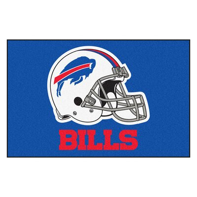 NFL - Buffalo Bills Doormat Rug Size: 18 x 26