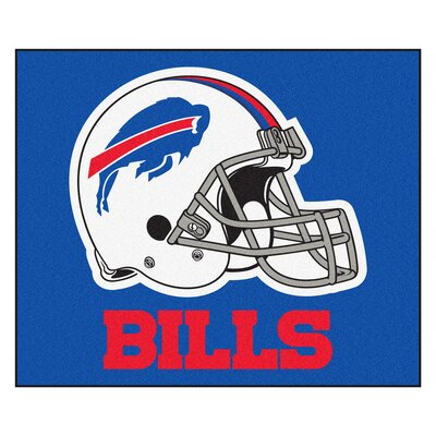 NFL - Buffalo Bills Doormat Rug Size: 5 x 6