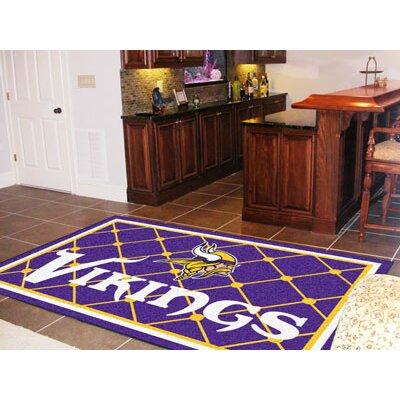 NFL - Minnesota Vikings 5x8 Rug Rug Size: 4' x 6'