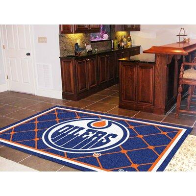 NHL - Edmonton Oilers Doormat Rug Size: 5 x 74